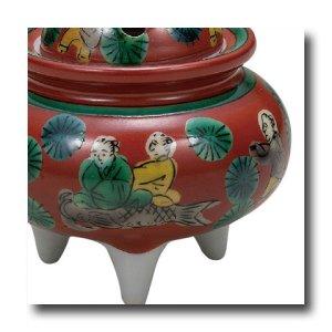 画像3: 九谷焼 3号豆香炉・木米(木箱)