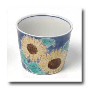 画像2: フリーカップセット 四季の花(木箱入)