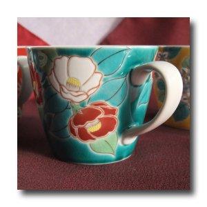 画像5: マグカップ 椿(紙箱入)